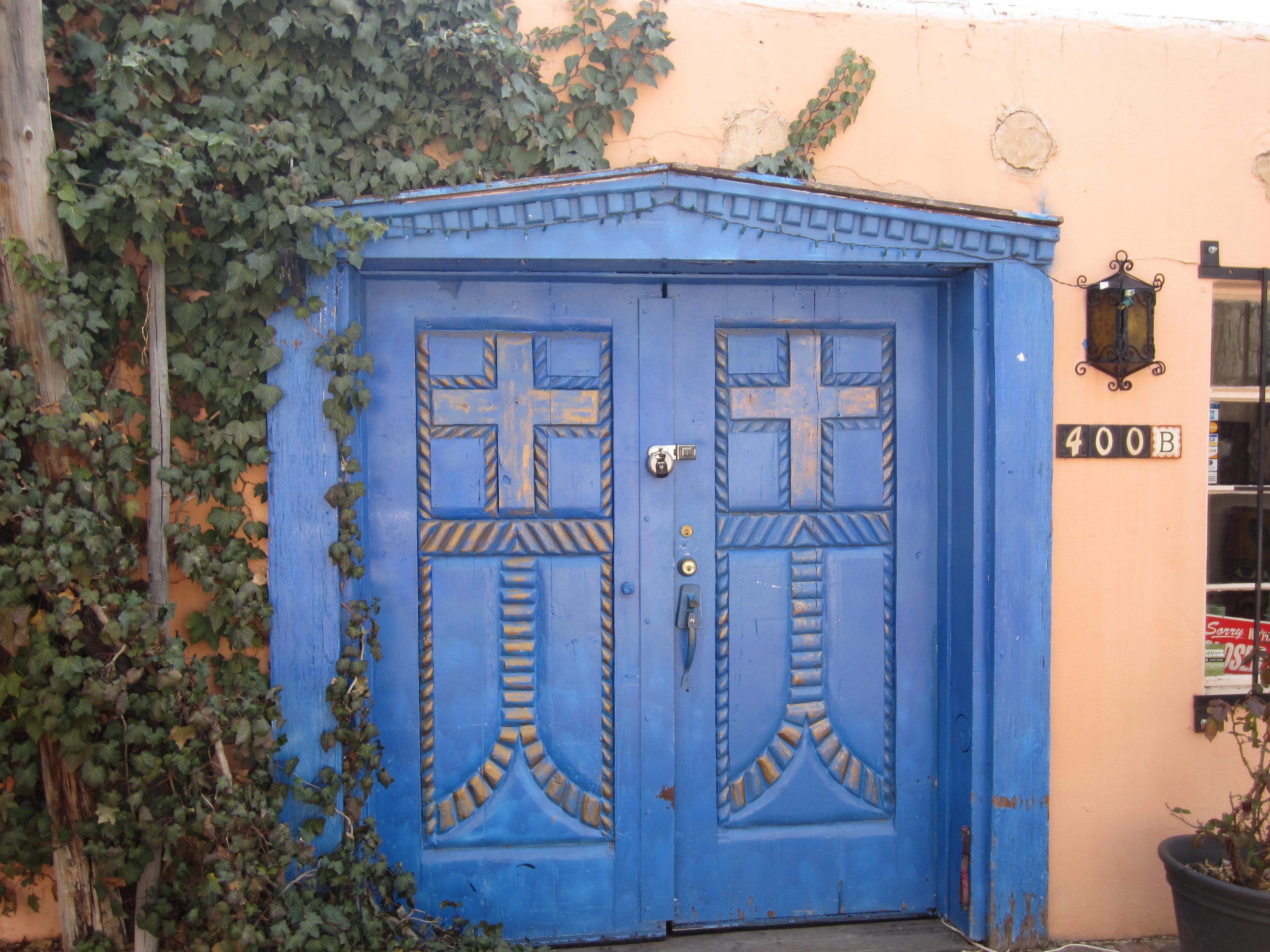 New Mexican door & New Mexican door | the thirdeyeworld