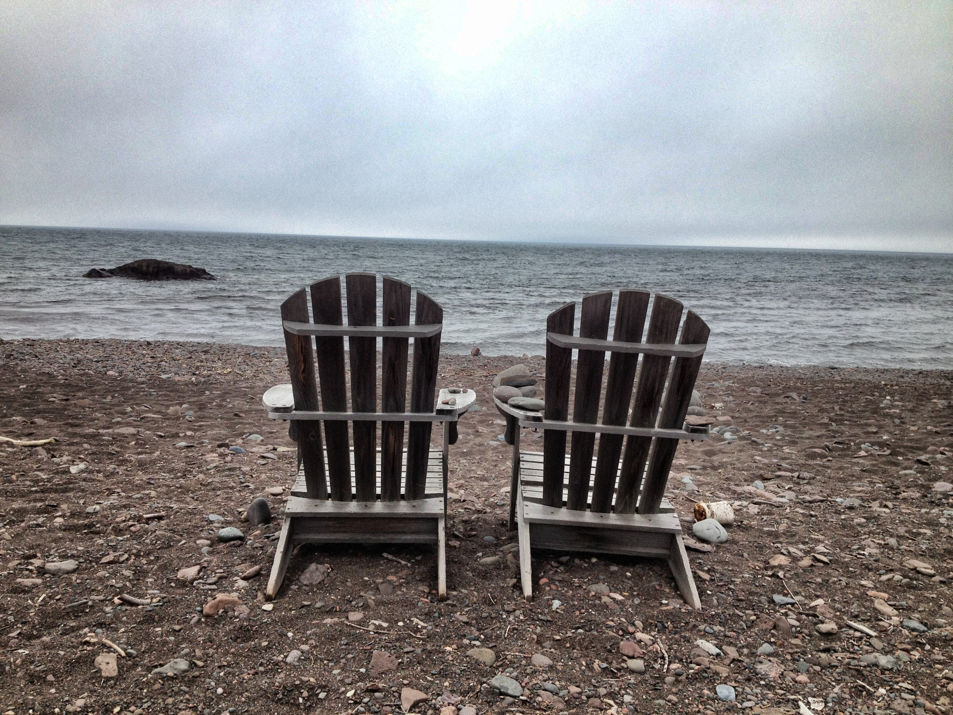 adirondack chairs lake pair of adirondack chairs