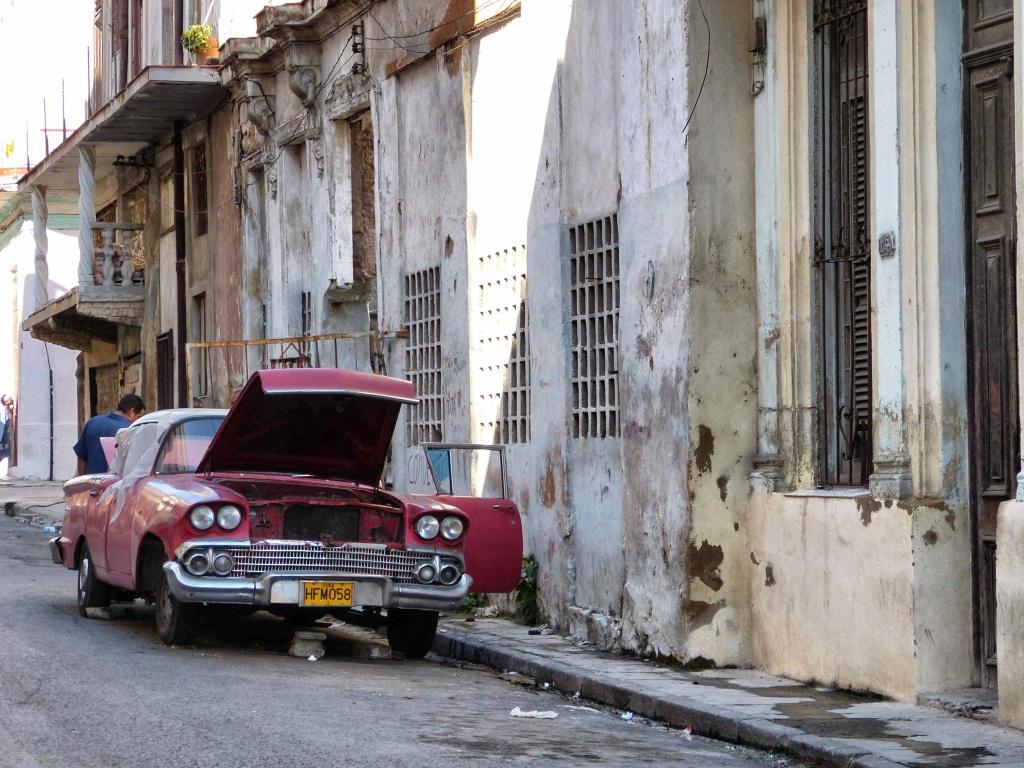 Old Cars in Havana Cuba