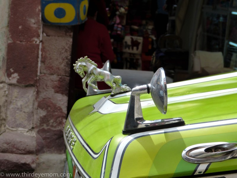 Car in La Paz Bolivia